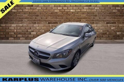2015 Mercedes-Benz CLA for sale at Karplus Warehouse in Pacoima CA