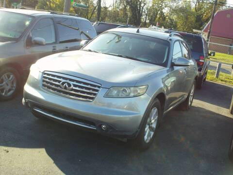 2006 Infiniti FX35 for sale at Marlboro Auto Sales in Capitol Heights MD