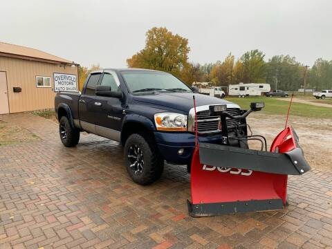 2006 Dodge Ram Pickup 2500 for sale at Overvold Motors in Detriot Lakes MN