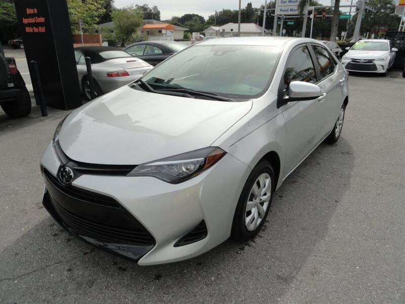 2019 Toyota Corolla for sale at DeWitt Motor Sales in Sarasota FL
