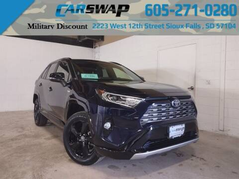 2019 Toyota RAV4 Hybrid for sale at CarSwap in Sioux Falls SD