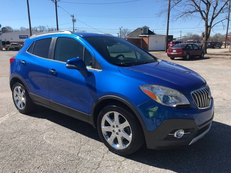 2014 Buick Encore for sale at Cherry Motors in Greenville SC