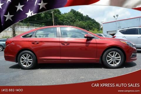 2015 Hyundai Sonata for sale at Car Xpress Auto Sales in Pittsburgh PA