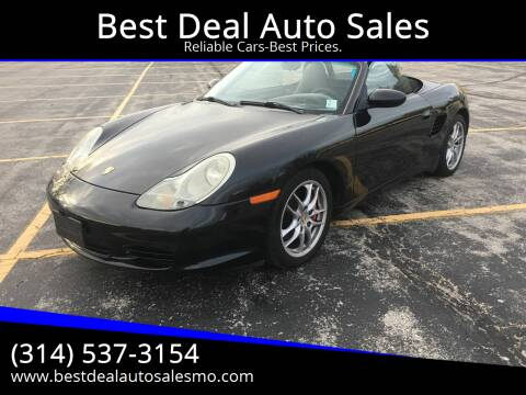 2003 Porsche Boxster for sale at Best Deal Auto Sales in Saint Charles MO