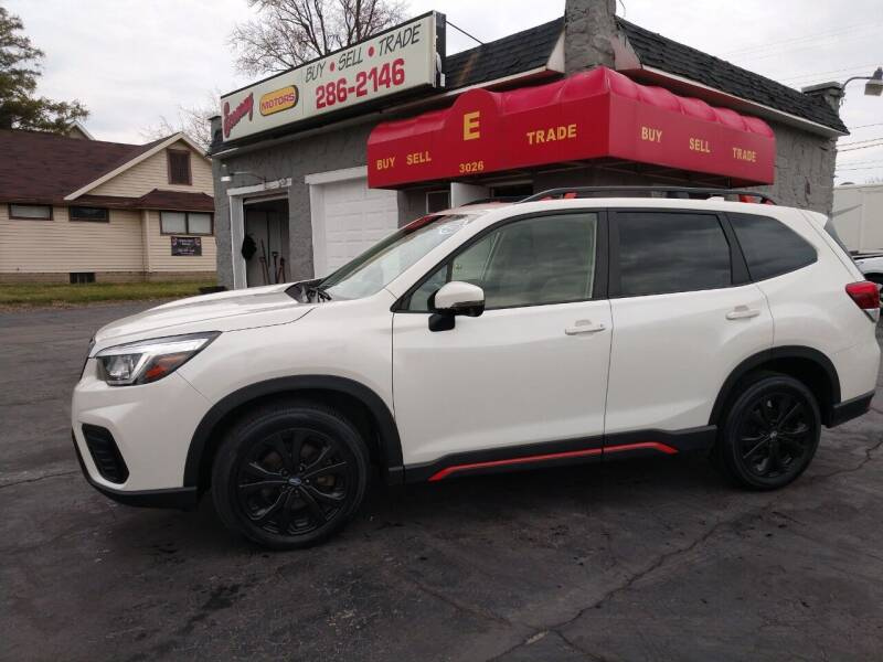 2019 Subaru Forester for sale at Economy Motors in Muncie IN