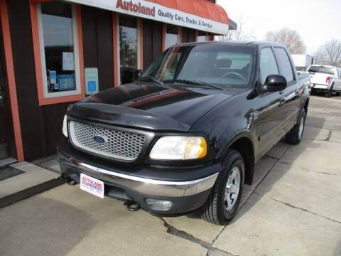 2001 Ford F-150 for sale at Autoland in Cedar Rapids IA