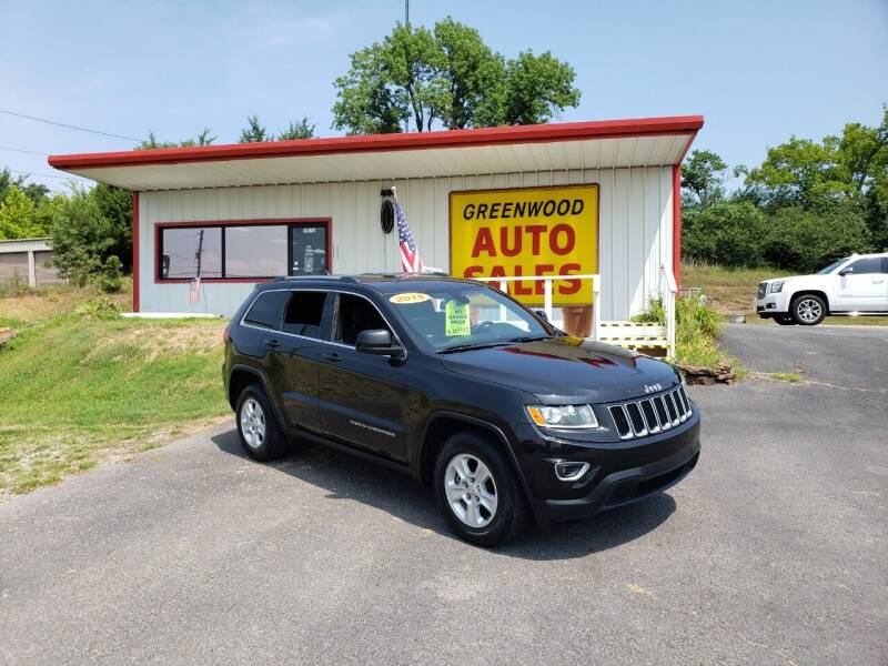 2015 Jeep Grand Cherokee for sale at Greenwood Auto Sales in Greenwood AR