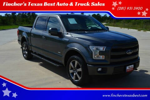 2017 Ford F-150 for sale at Fincher's Texas Best Auto & Truck Sales in Tomball TX