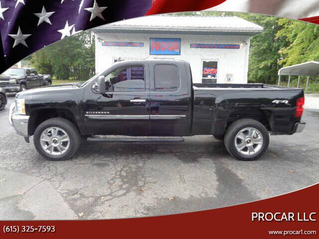 2012 Chevrolet Silverado 1500 for sale at PROCAR LLC in Portland TN