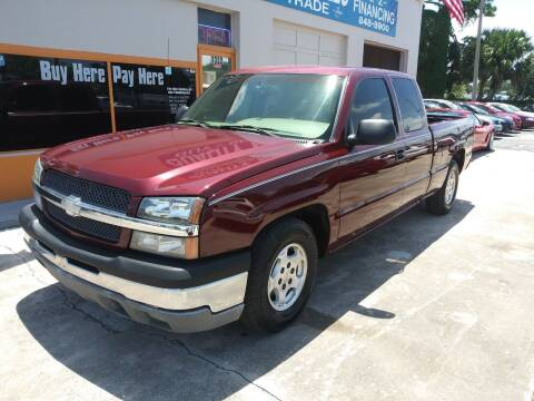 2003 Chevrolet Silverado 1500 for sale at QUALITY AUTO SALES OF FLORIDA in New Port Richey FL