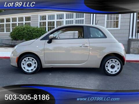 2012 FIAT 500 for sale at LOT 99 LLC in Milwaukie OR