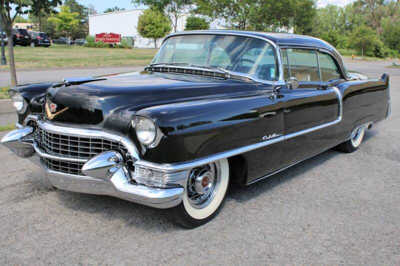 1955 Cadillac DeVille for sale at Great Lakes Classic Cars & Detail Shop in Hilton NY