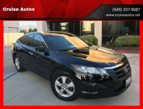 2012 Honda Crosstour for sale at Cruise Autos in Corona CA
