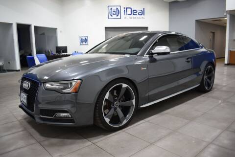 2015 Audi S5 for sale at iDeal Auto Imports in Eden Prairie MN