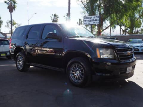 2009 Chevrolet Tahoe for sale at Corona Auto Wholesale in Corona CA