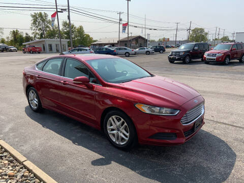 2015 Ford Fusion for sale at Bruce Kunesh Auto Sales Inc in Defiance OH