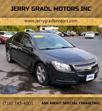 2012 Chevrolet Malibu for sale at JERRY GRADL MOTORS INC in North Tonawanda NY