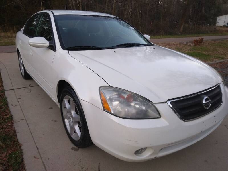 2002 Nissan Altima for sale at Sparks Auto Sales Etc in Alexis NC