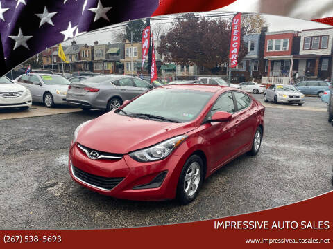 2014 Hyundai Elantra for sale at Impressive Auto Sales in Philadelphia PA