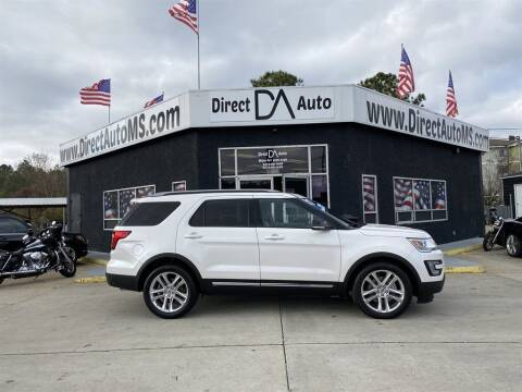 2017 Ford Explorer for sale at Direct Auto in D'Iberville MS