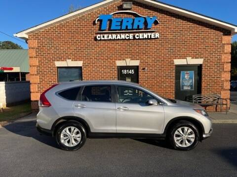 2013 Honda CR-V for sale at Terry Clearance Center in Lynchburg VA