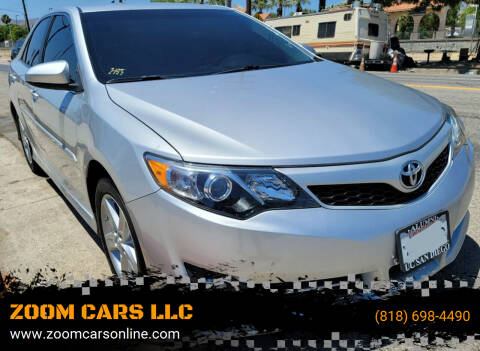 2014 Toyota Camry for sale at ZOOM CARS LLC in Sylmar CA