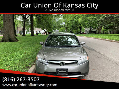 2006 Honda Civic for sale at Car Union Of Kansas City in Kansas City MO