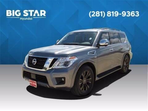 2020 Nissan Armada for sale at BIG STAR HYUNDAI in Houston TX