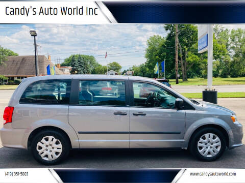 2014 Dodge Grand Caravan for sale at Candy's Auto World Inc in Toledo OH