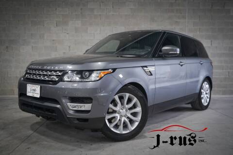 2016 Land Rover Range Rover Sport for sale at J-Rus Inc. in Macomb MI