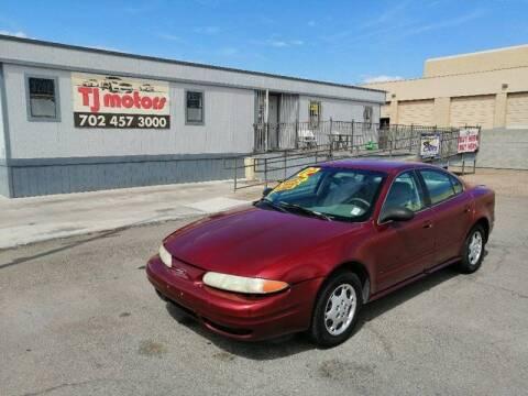 2002 Oldsmobile Alero for sale at TJ Motors in Las Vegas NV