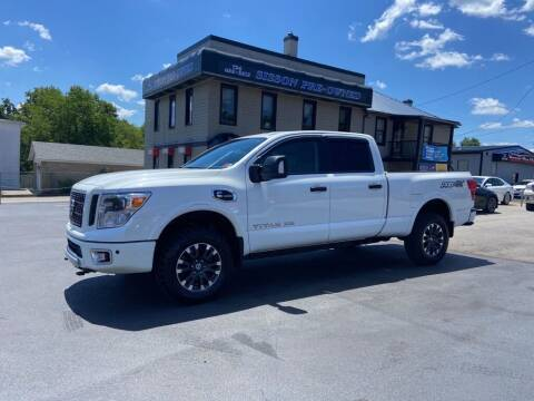 2019 Nissan Titan XD for sale at Sisson Pre-Owned in Uniontown PA