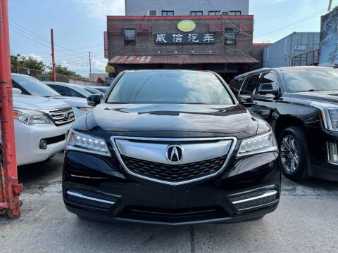 2015 Acura MDX for sale at TJ AUTO in Brooklyn NY