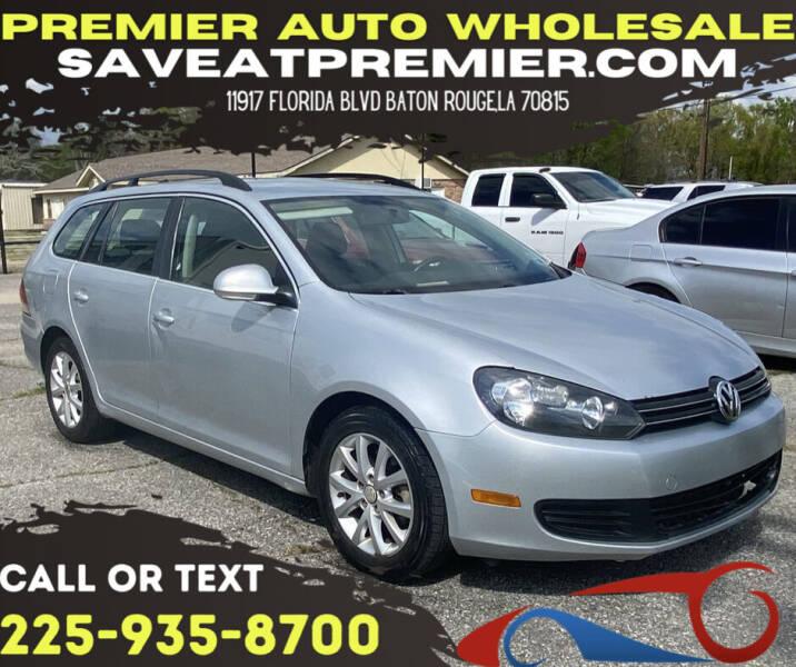 2013 Volkswagen Jetta for sale at Premier Auto Wholesale in Baton Rouge LA
