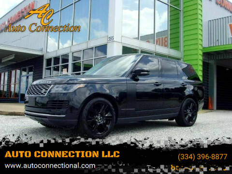 2020 Land Rover Range Rover for sale at AUTO CONNECTION LLC in Montgomery AL