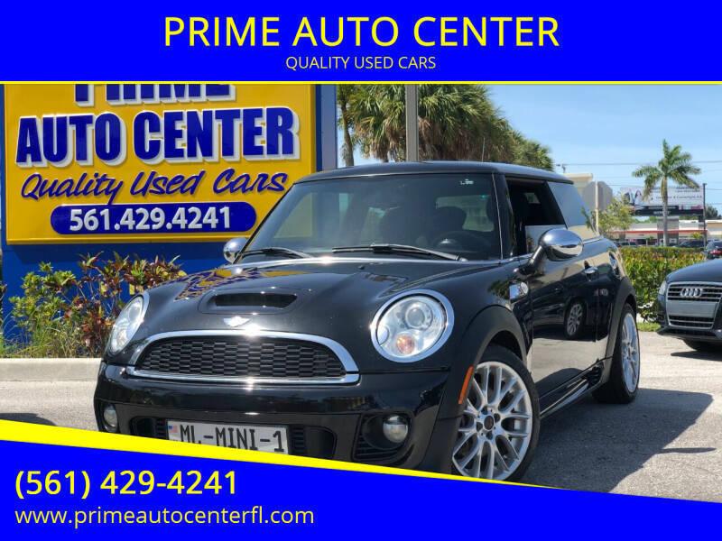 2013 MINI Hardtop for sale at PRIME AUTO CENTER in Palm Springs FL
