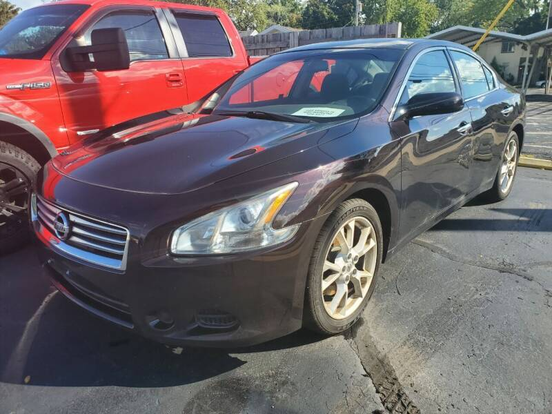 2012 Nissan Maxima for sale at Appleton Motorcars Sales & Service in Appleton WI