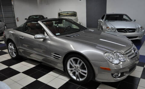 2007 Mercedes-Benz SL-Class for sale at Podium Auto Sales Inc in Pompano Beach FL