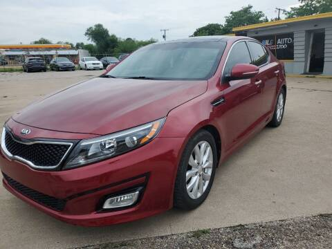 2015 Kia Optima for sale at Nile Auto in Fort Worth TX