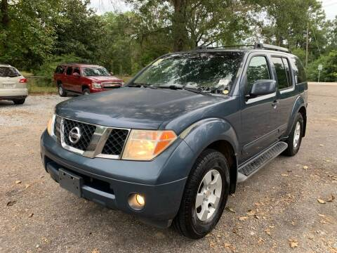 2005 Nissan Pathfinder for sale at Triple A Wholesale llc in Eight Mile AL