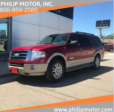 2007 Ford Expedition EL for sale at Philip Motor Inc in Philip SD