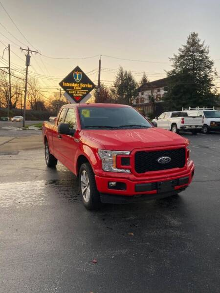 2018 Ford F-150 for sale at Interstate Fleet Inc. Auto Sales in Colmar PA