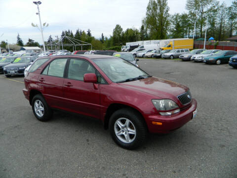 1999 Lexus RX 300 for sale at J & R Motorsports in Lynnwood WA
