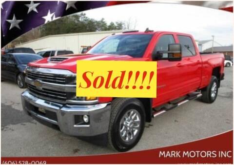 2017 Chevrolet Silverado 2500HD for sale at Mark Motors Inc in Gray KY