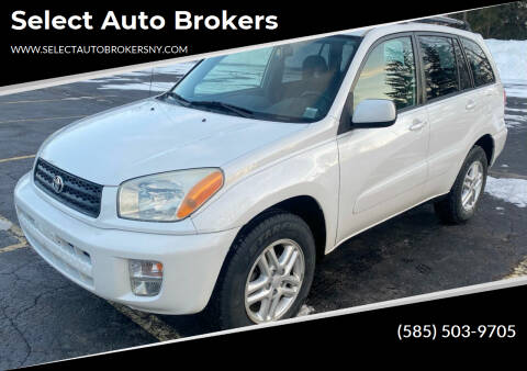 2003 Toyota RAV4 for sale at Select Auto Brokers in Webster NY