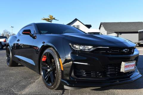 2020 Chevrolet Camaro for sale at Heritage Automotive Sales in Columbus in Columbus IN