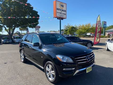 2012 Mercedes-Benz M-Class for sale at TDI AUTO SALES in Boise ID
