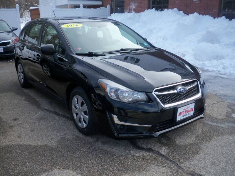 2016 Subaru Impreza for sale at Charlies Auto Village in Pelham NH