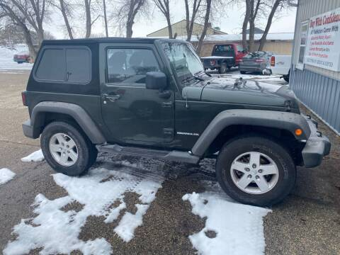 2011 Jeep Wrangler for sale at B & B Auto Sales in Brookings SD