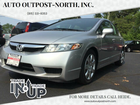 2010 Honda Civic for sale at Auto Outpost-North, Inc. in McHenry IL